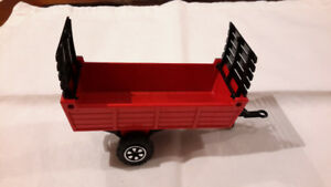 Majorette Red Farm Wagon - collectible