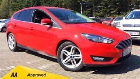 2017 Ford Focus 1.0 EcoBoost 125 Zetec (Nav) 5 Manual Petrol Hatchback