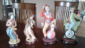Figurines - Clowns from/de The Natelia Collection Gatineau Ottawa / Gatineau Area image 1