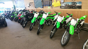 KLX AND KX SALES ARE ON AS LOW AS $50.00 BI-WEEKLY TAX INC.