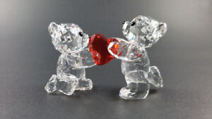 Swarovski Kris Bear (signed by designer) My Heart is Yours