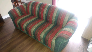 Selling 2 couches in great conditions and antique European lamp