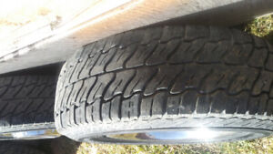 Dodge rims and tires 8 bolts