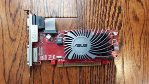 ASUS HD 6450 VIDEO CARD WITH 1 GB DDR3 RAM