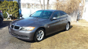 2007 BMW 3-Series 328XI cuir Berline