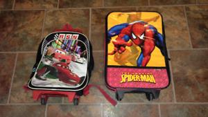 Kids over night bags