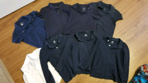 Boys Size 5 Uniform Shirts