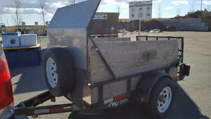 Utility Trailer - 4x8 box **Tentatively Sold***