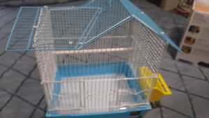 Hamster cage/ bird cage!! Blue bird cage New!!