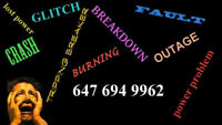 Licensed electrician 647-694-9962