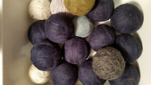 Brand New Handmade Felted Wool Dryer Balls