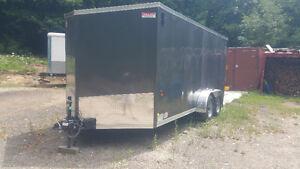 7X14 enclosed  trailer