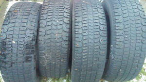Studded winter tires for sale 225-70-16