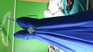 Beautiful Royal Blue dress for sale. Only $200 !!