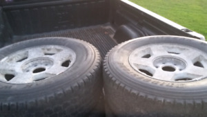 4 Tires and Rims for Sale