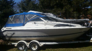 1993 21.5FT THUNDER CRAFT BOAT FOR SALE