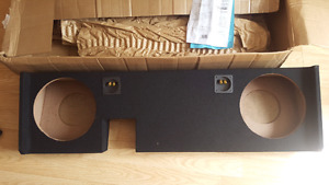 "12"" Subwoofer box for Ford f150"
