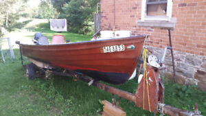 Wikes Wood Guide Boat