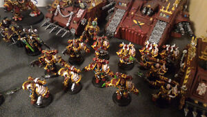 Painted 40k Chaos army, trade for X wing? London Ontario image 5