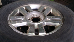 Ford F150  Chrome Rims and Tires for sale