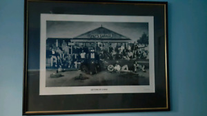 """Toronto Maple Leafs """"Pat's Garage: Get It Going"""" Vintage Picture"""