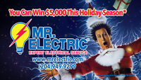 Enter to Win $5000 with every quote from Mr. Electric