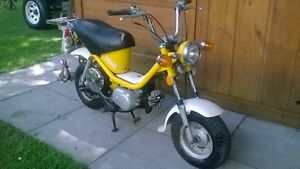 Vintage Yamaha 80 cc Chappy Scooter--rare find--