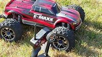 E-Maxx Brushless Edition, chargeur ONYX240, bateries