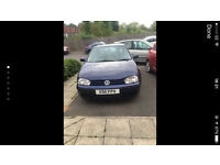 Volkswagen Golf for sale. Full service history and MOT
