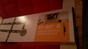 """Support mural neuf pour télévision 47""""-80"""" new Wall mount for tv"""