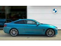 2018 BMW 4 Series 420d [190] M Sport 2dr Auto [Professional Media] Diesel Coupe