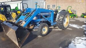 WANTED Tractor with front end loader