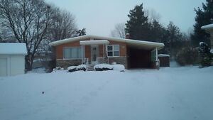 House for rent - 3 bedroom bungalow for rent available Kitchener / Waterloo Kitchener Area image 1