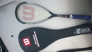 Wilson and Dunlop Squash Racquests
