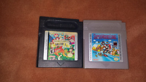 For sale, super Mario land. And gallery 3 both games for 25 doll