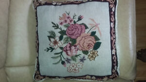 Beautiful Floral Cushions  (6)