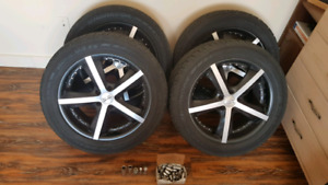 Tires with trims 18 inch