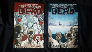 The Walking Dead Volumes 1 and 2 (Trade Paperbacks)