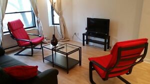 Fully furnished 2 bedrooms Condo in the heart of Montreal