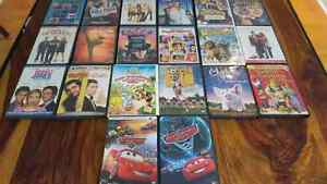 Lot 20 dvd (kids and others)