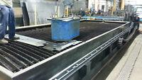 * TABLE À DÉCOUPER CNC / CNC CUTTING TABLE *