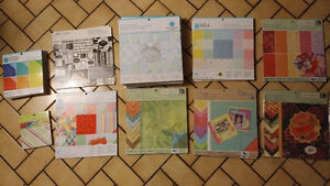NEW SCRAPBOOK PAPER BOOKS - lots to choose from - Martha Stewart