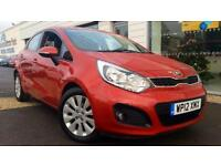 2012 Kia Rio 1.25 2 5dr Manual Petrol Hatchback