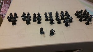 Warhammer converted space marine lot wants d&d books