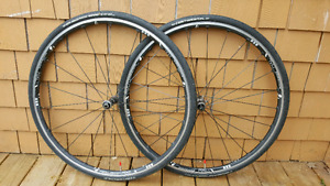 Bontrager RXL wheels with Continental GP4000s tires
