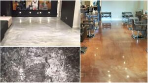 Garage Floors, Basements, Commercial Floors and Show Rooms