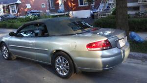 Chrysler Sebring 2004 limited décapotable