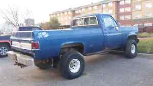 79 Chevrolet 3/4 ton manual transmission 4x4