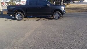 "f150 22"" rims and good tires"