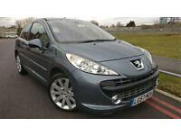 2007 57 Peugeot 207 1.6 THP 150 GT +++FULL MAIN DEALER SERVICE HISTORY+++